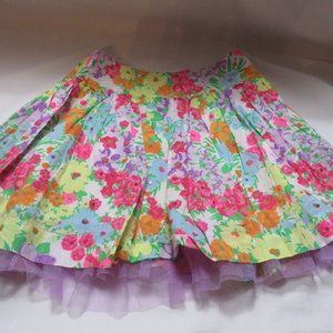 Girls Justice floral Skirt